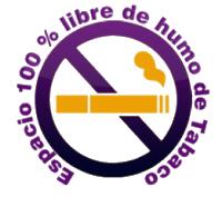 Edificio 100% libre de humo de Tabaco